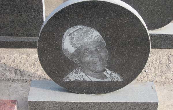 SAMPLE OF STONE ETCHING